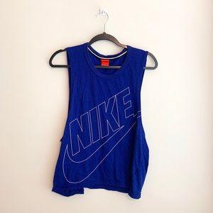 Nike Purple Muscle Tee Medium